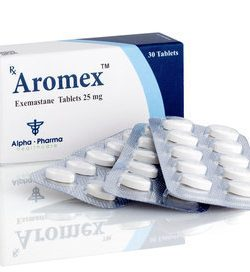 Aromex Exemestane 30 Tablets 25Mg